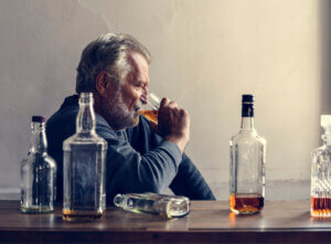 adults consuming alcohol heavily