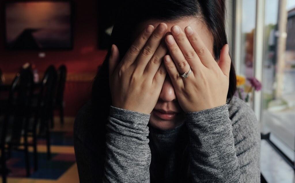 upset woman mental health social isolation