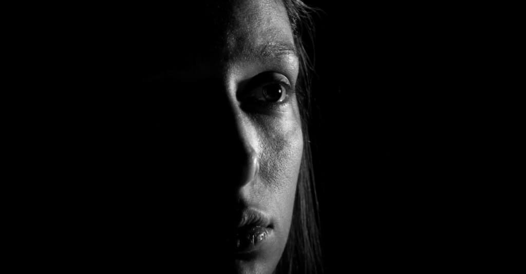 woman afraid need to go to rehab