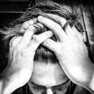 frustrated man rehab for klonopin addiction