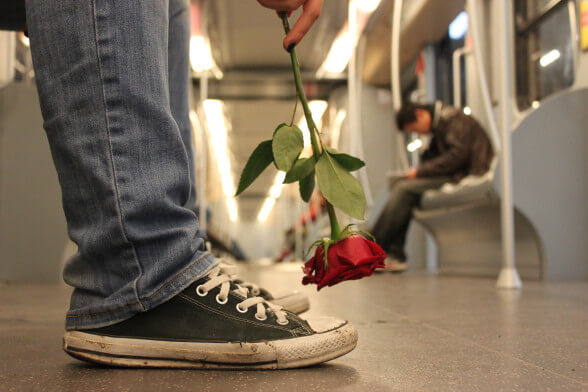 travel metro style heartbreak breakup rose dumped how to deal with relationships