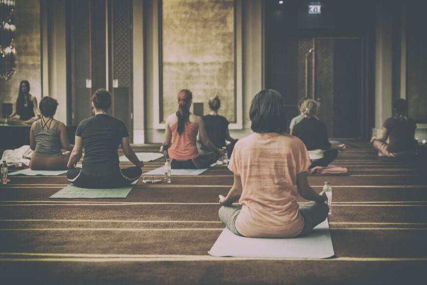 morning yoga fitness group class meditation retreat changed my life