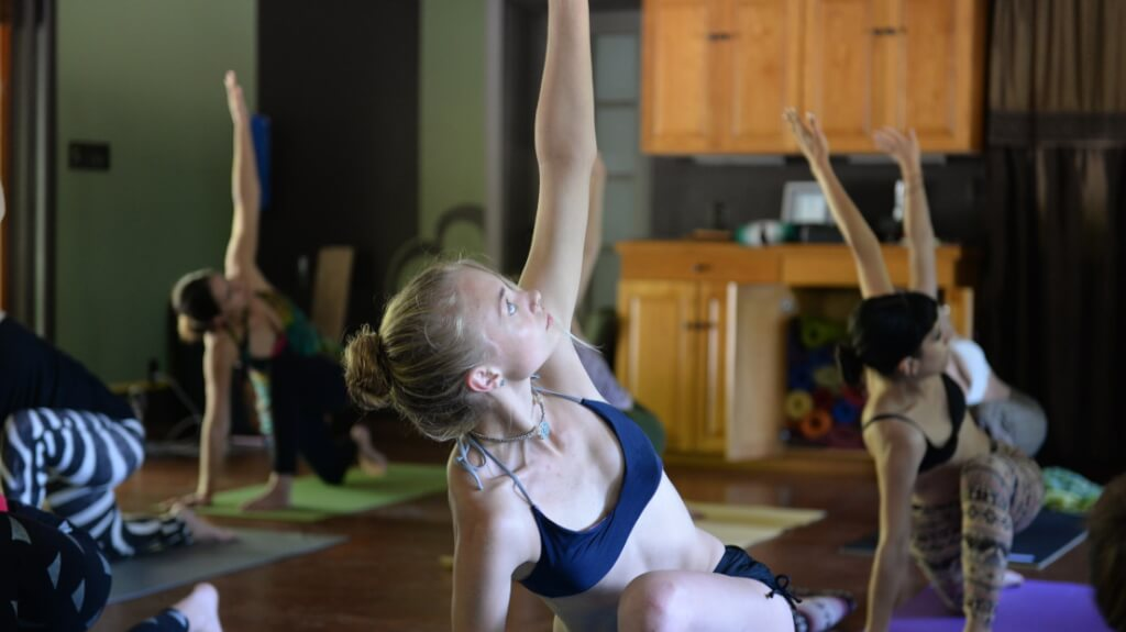 young yogini at a womens yoga retreat change your life women well being